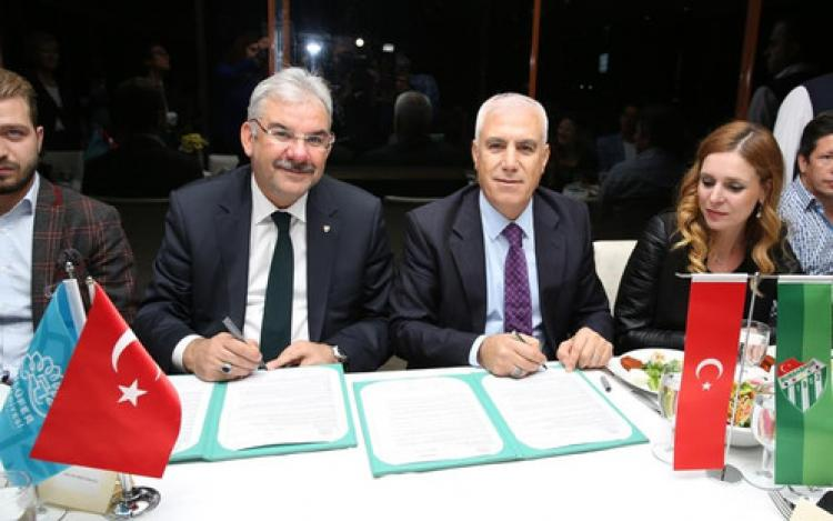 Nilüfer Belediyesi'nden Bursaspor'a destek