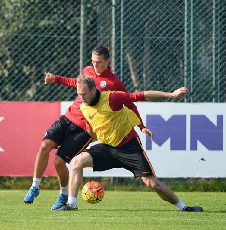 Galatasaray'da Antalyaspor maçı hazırlıkları sürdü