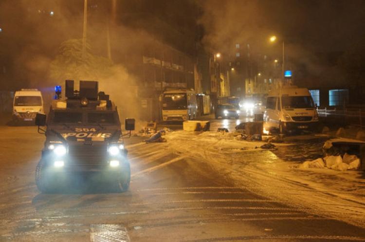 Kağıthane'de polis müdahalesi