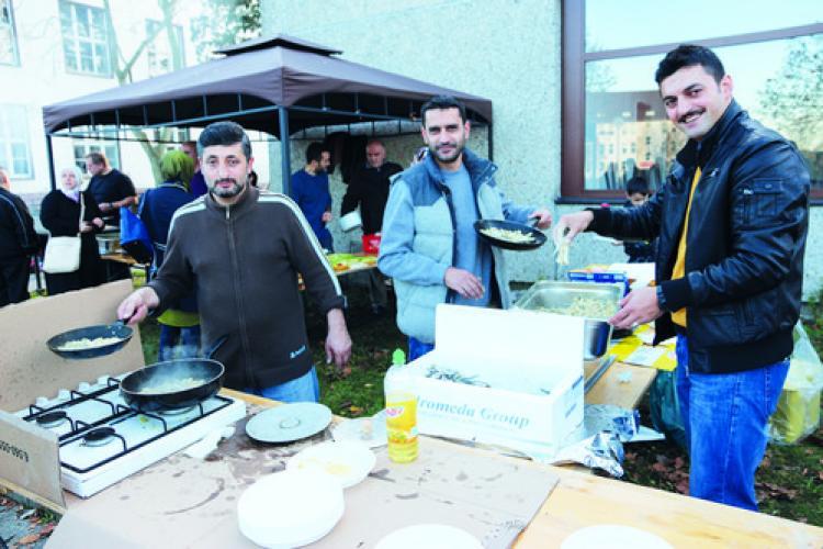 2. Wilhelmstadt Balık Festivali'ne yoğun ilgi