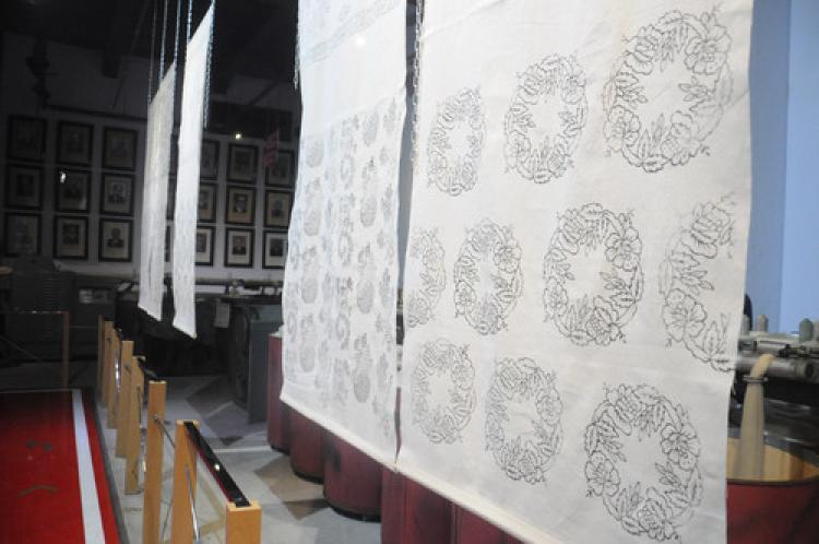 Ahşap yazma kalıpları sergisi Bursa'da