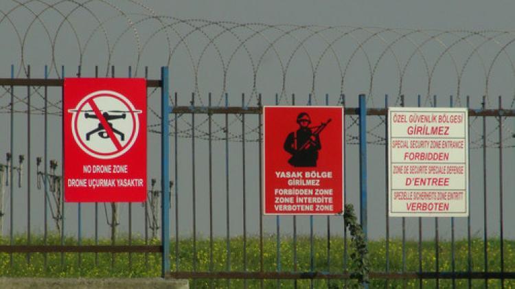 Atatürk Havalimanı'nda Drone için tabelalı önlem