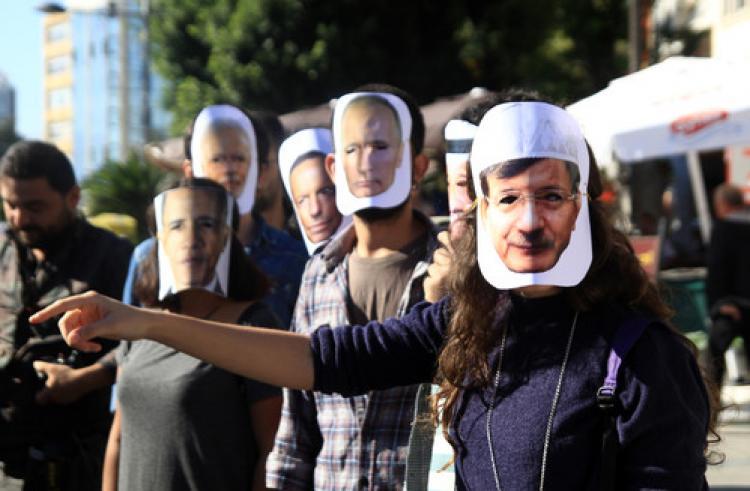 Öğrencilerden G20 protestosu