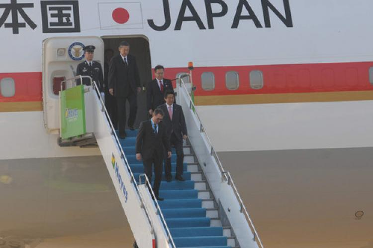 Japonya Başbakanı Abe Türkiye'de