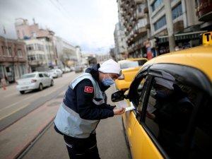 Taksi ve dolmuşlara denetleniyor