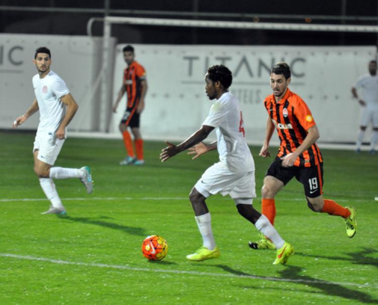 Antalyaspor: 1 - Shaktar Donetsk: 1