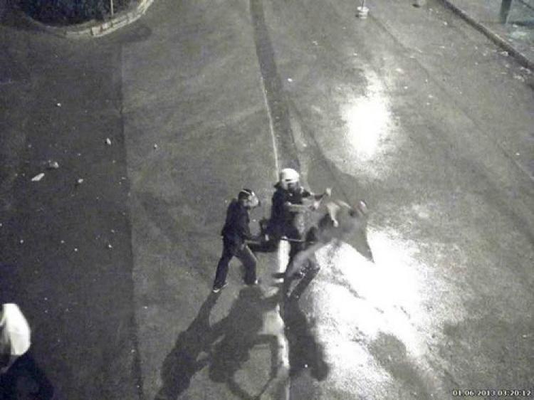 Gürcü genci felç eden polis bulunamıyor!