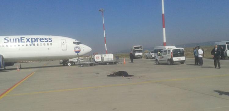 Havalimanı'nda kaza: 1 ölü