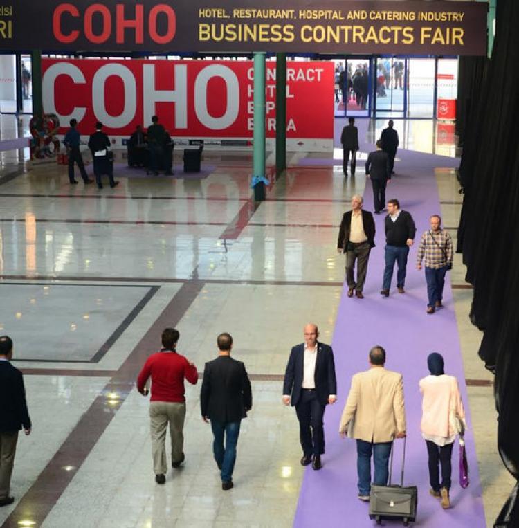 COHO Fuarı'nı 10 bin kişi ziyaret etti