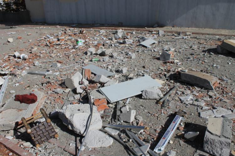 IŞİD'in hücre evinden cephanelik çıktı