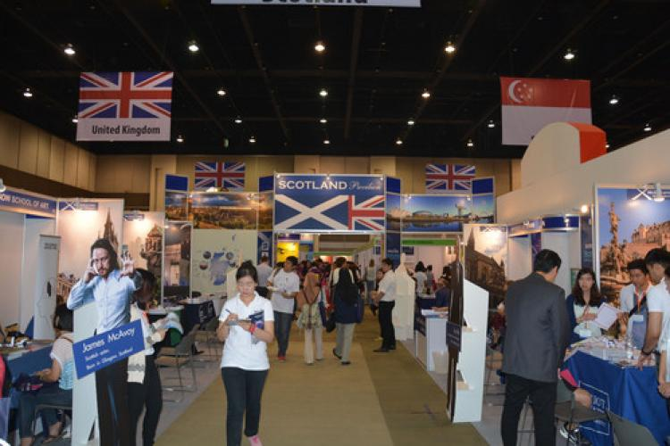 Türk Üniversiteleri, Tayland Eğitim Fuarı'nda