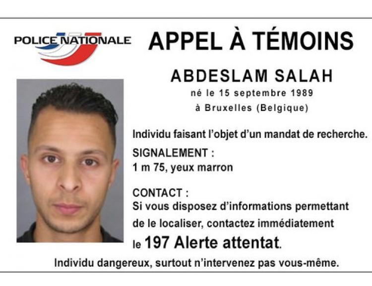 Fransız polisi, Brüksel doğumlu Abdeslam Salah'ı arıyor