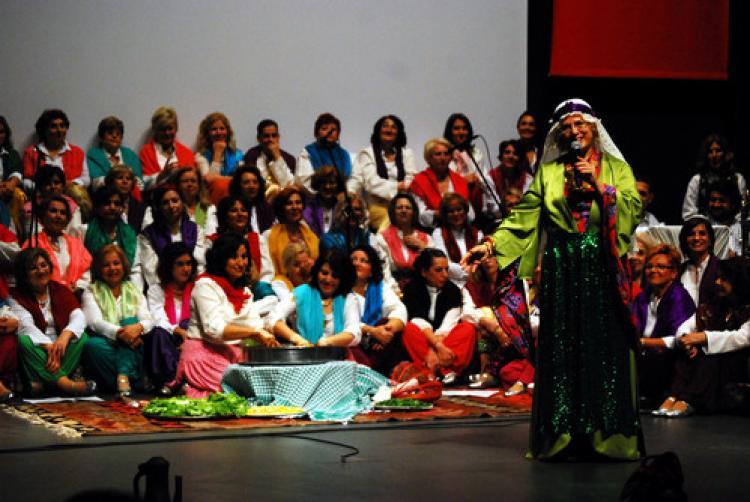 Nilüfer Kadın Korosu'ndan konser