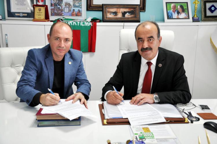 Mudanya'da atık yağların geri dönüşümü protokolü imzalandı