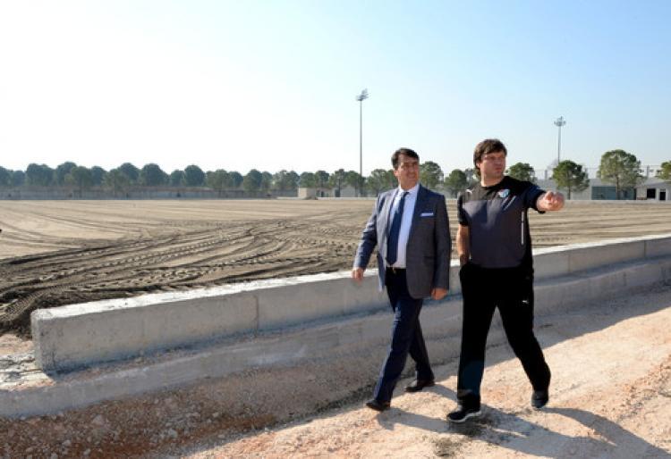 Bursaspor yeni antrenman sahasına kavuşuyor