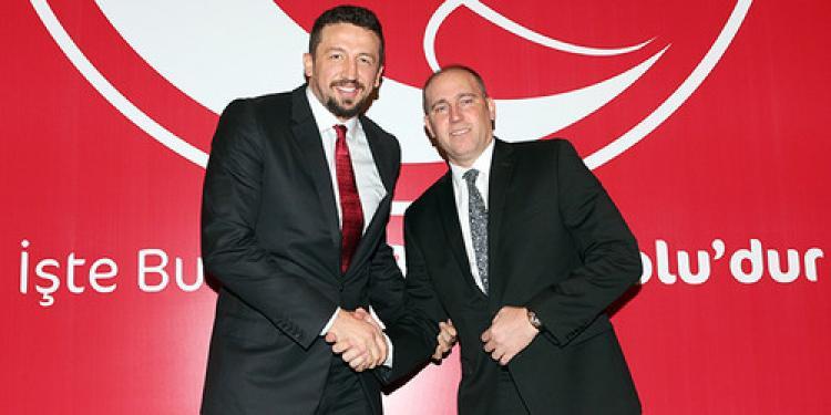 Hidayet Türkoğlu, Türkiye Basketbol Federasyonu'nun CEO'su oldu