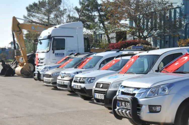 Bandırma Belediyesi'ne yeni araç alımları
