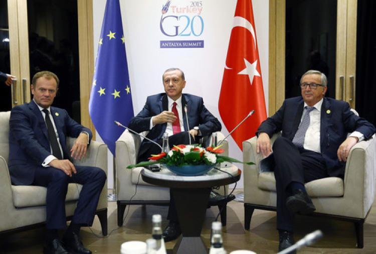 Erdoğan, AB kurumlarının liderleriyle görüştü