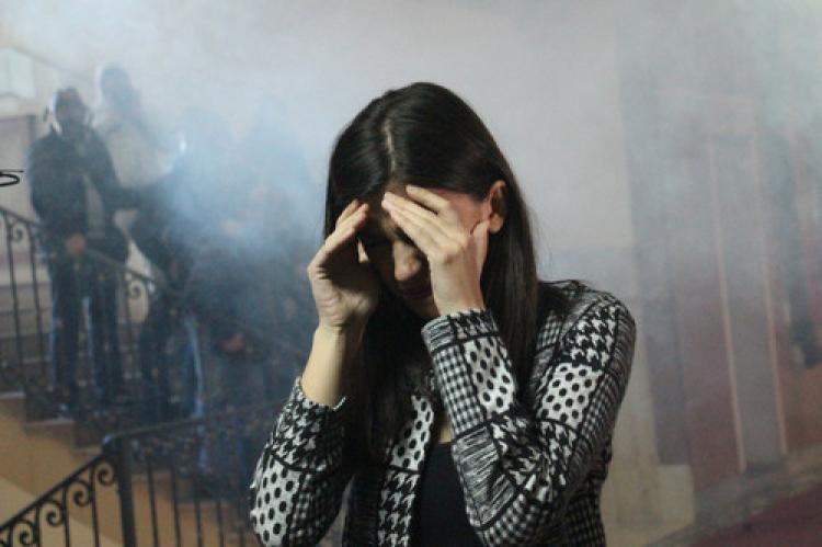 Kosova'da milletvekilleri hastanelik oldu