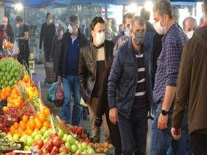 Bursa'da pazar yasağına tepki!