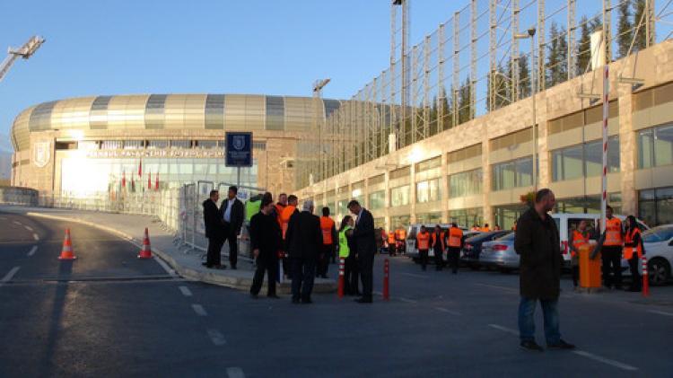 Fatih Terim Stadı'nda milli maç hazırlıkları