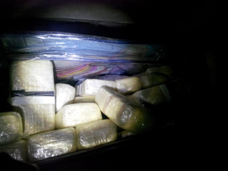 87 kilo eroin yakalandı