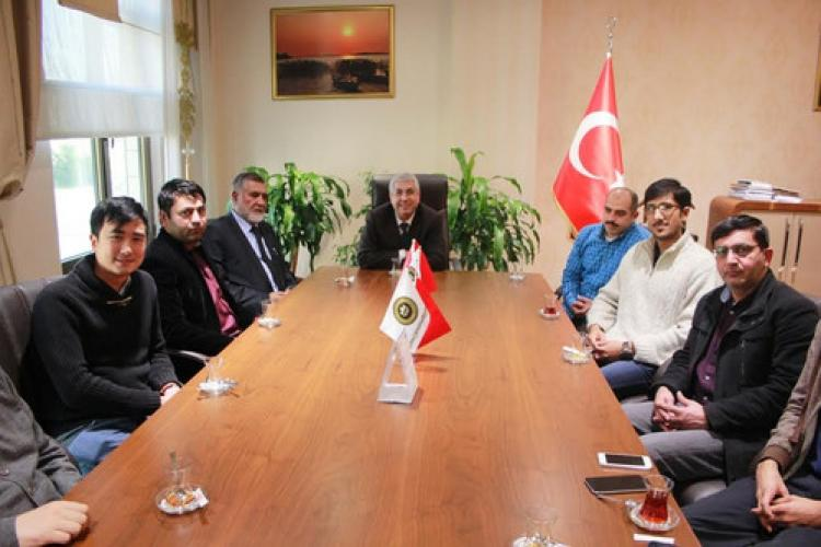 Bursa Orhangazi Üniversitesi'ne ziyaret