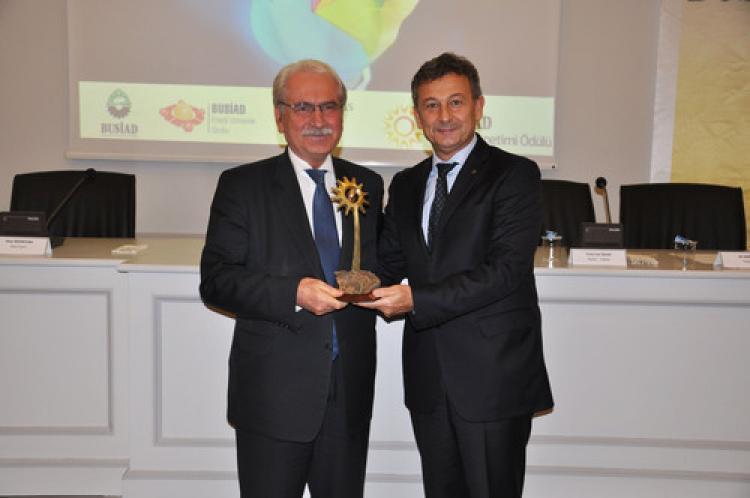 2. Enerji Yönetimi Ödülü Bursa Çimento'nun oldu