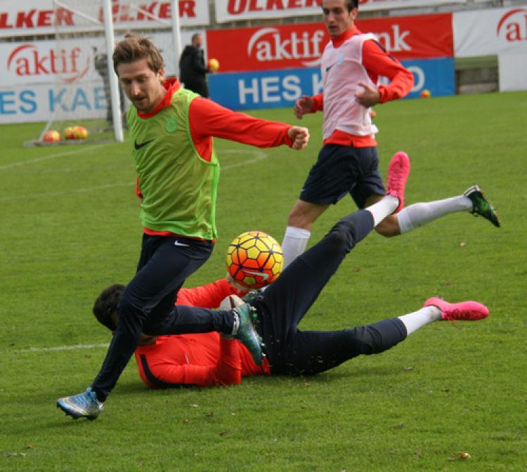 Trabzonspor, Gençlerbirliği maçına hazırlanıyor