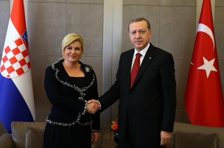 Erdoğan, Kitaroviç ile görüştü