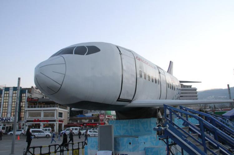 Simülasyon uçağı ile sanal Türkiye turu