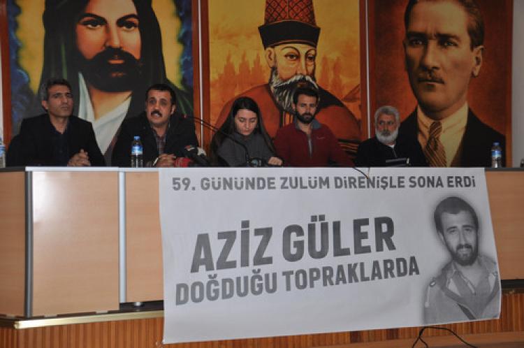 """""""Devlet 59 gündür cenazesini teslim etmedi"""""""