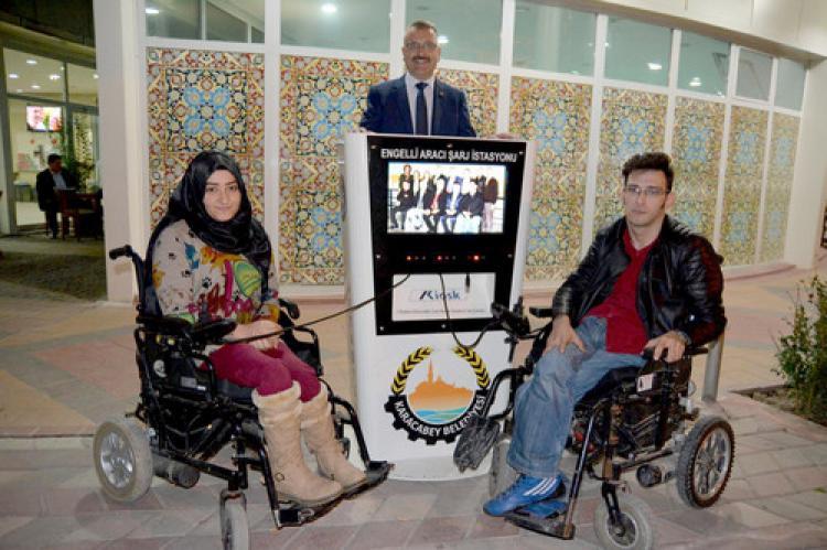 Engelliler için Engelsiz bir Karacabey