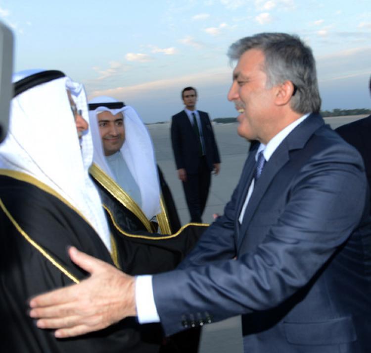 Abdullah Gül Kuveyt'te