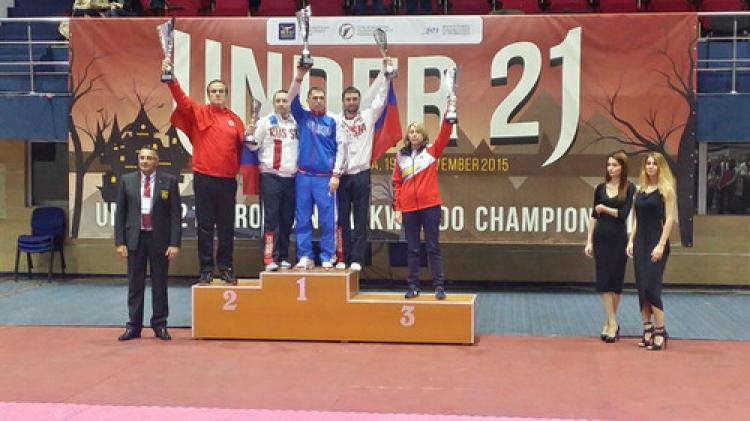 Tekvando'da Ümitler Avrupa şampiyonu oldu