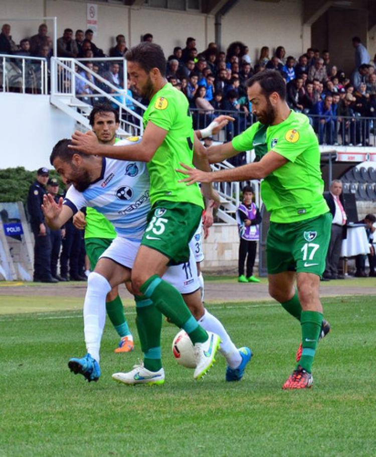 Denizlispor: 1 - Adanademirspor: 1