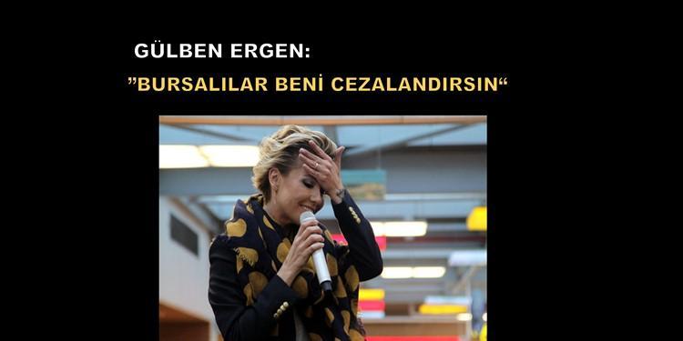 Gülben Ergen Bursa'da