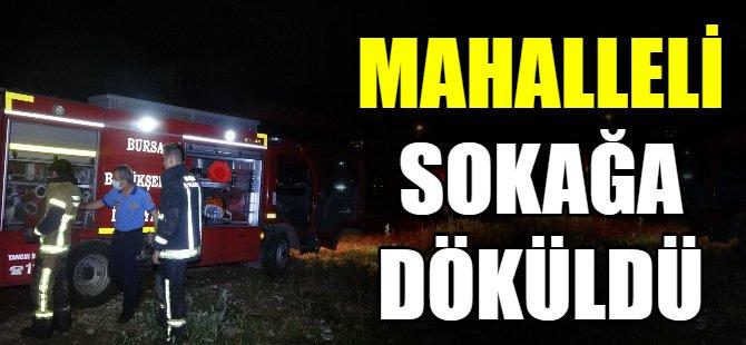 Bursa'da o mahalle sokağa döküldü!