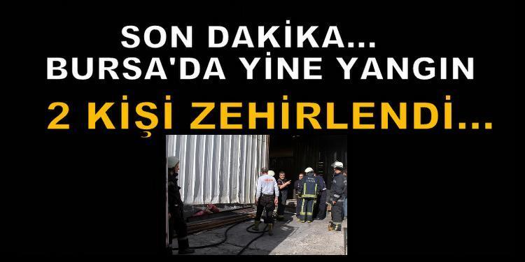Demirtaş'ta korkutan yangın!
