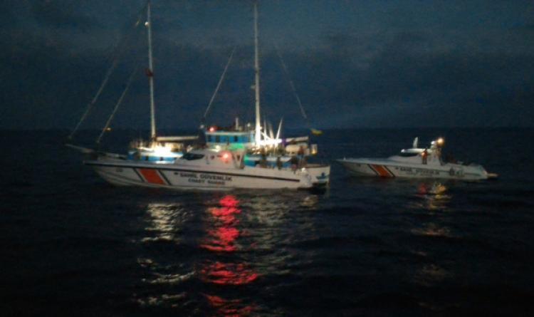 Teknede 84 kaçak göçmen yakalandı