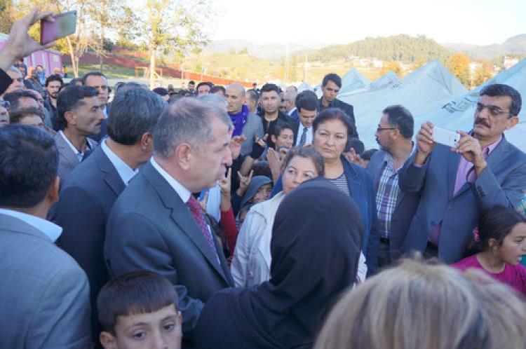 Özdağ, Türkmen liderleriyle görüştü