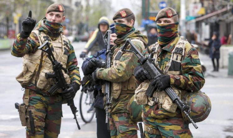 Brüksel'de hayat durdu