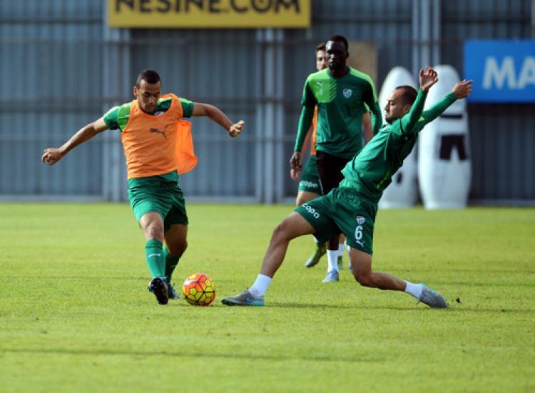 Bursaspor, Kayserispor hazırlıklarını sürdürdü