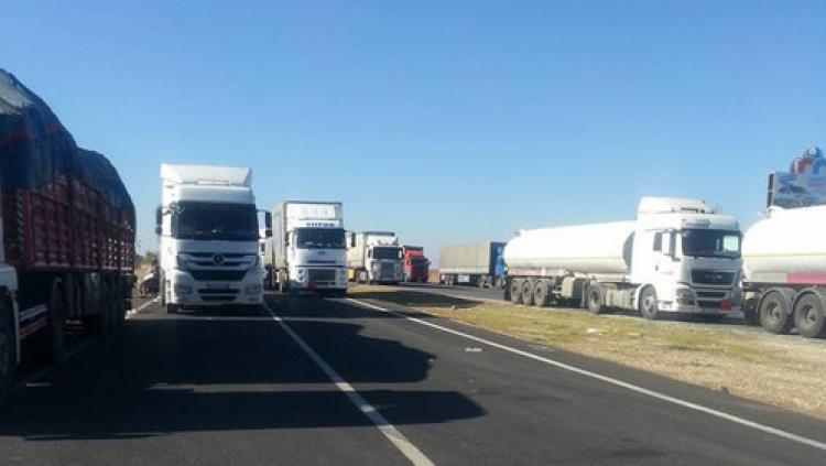 Midyat-İdil arasındaki zincirleme kazada 7 araç hasar gördü