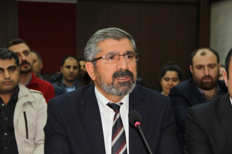 Tahir Elçi: Nusaybin halkı büyük bir tehlike ile karşı karşıya