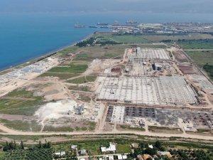TOGG'da inşaat ilerliyor