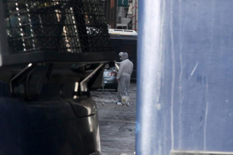 Rum Büyükelçilik binası da hasar gördü