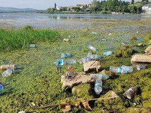 Gölyazı'da çöp rezaleti