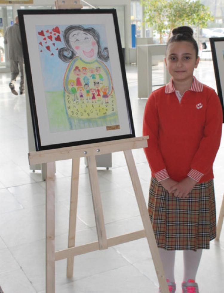 Nilüferli öğrencilere resim alanında iki ödül