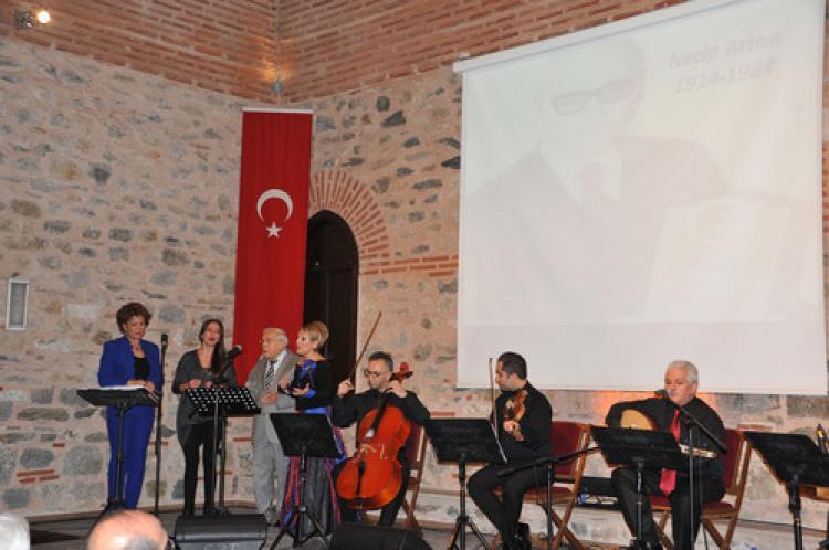 Bursalı şair, konser ile anıldı